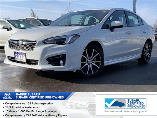 2019 Subaru Impreza Sport (Stk: SUB1564R) in Innisfil - Image 1 of 13