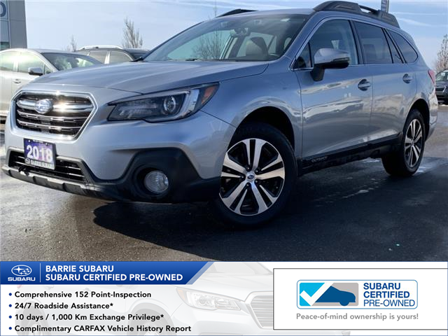2018 Subaru Outback 2.5i Limited (Stk: 20SB165A) in Innisfil - Image 1 of 18
