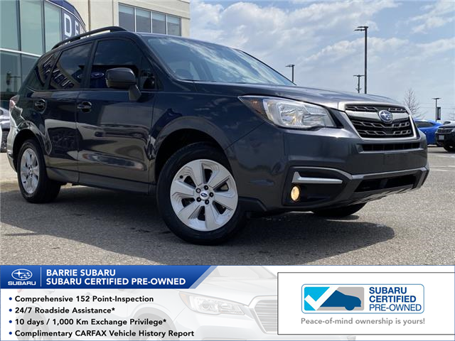 2017 Subaru Forester 2.5i Convenience (Stk: 201110A) in Innisfil - Image 1 of 8