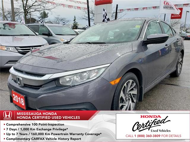 2018 Honda Civic EX (Stk: 325725A) in Mississauga - Image 1 of 22