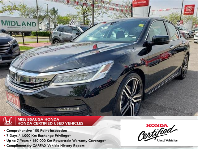 2017 Honda Accord Touring (Stk: 326155A) in Mississauga - Image 1 of 22