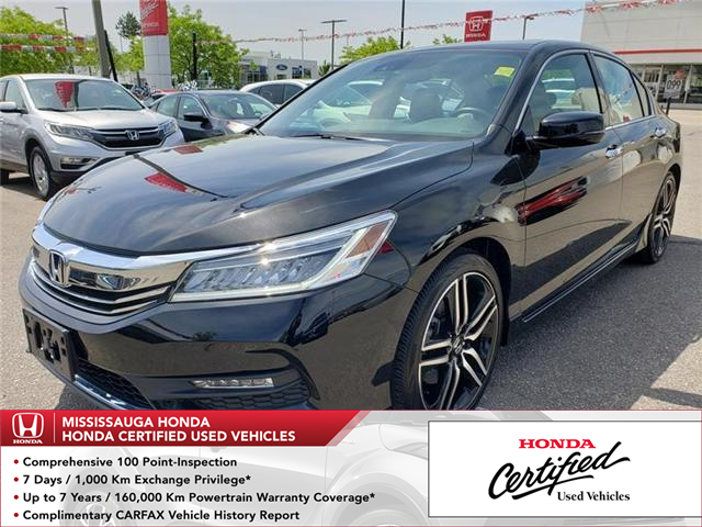 2017 Honda Accord Touring V6 (Stk: 325356A) in Mississauga - Image 1 of 20