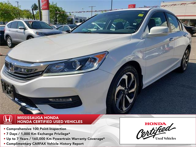 2017 Honda Accord EX-L (Stk: 325996A) in Mississauga - Image 1 of 22