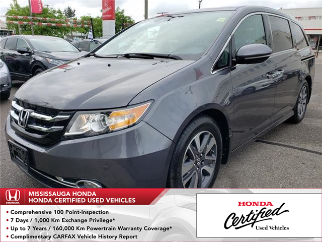 2017 Honda Odyssey Touring (Stk: 325830A) in Mississauga - Image 1 of 22