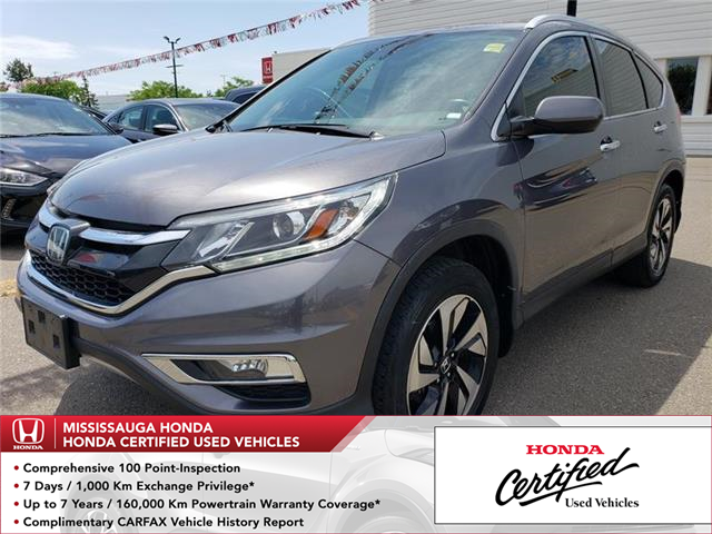 2015 Honda CR-V Touring (Stk: 326419A) in Mississauga - Image 1 of 22