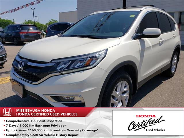 2016 Honda CR-V EX-L (Stk: 325382A) in Mississauga - Image 1 of 22