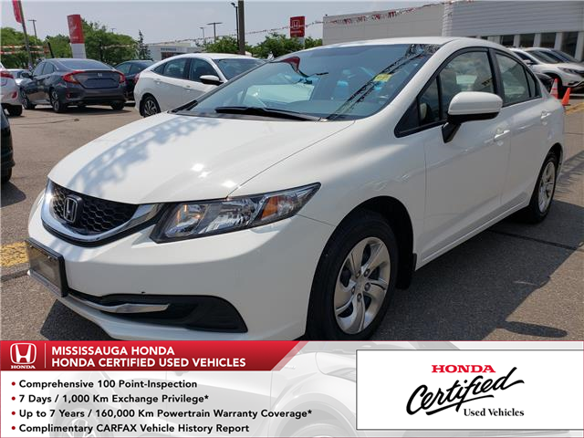 2015 Honda Civic LX (Stk: HC2505) in Mississauga - Image 1 of 21