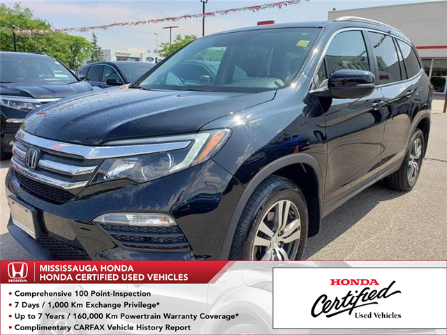 2017 Honda Pilot EX-L RES (Stk: 326686A) in Mississauga - Image 1 of 22