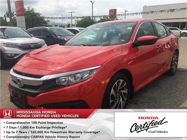 2017 Honda Civic EX (Stk: 326654A) in Mississauga - Image 1 of 24