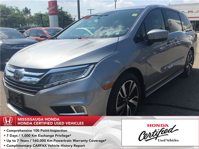 2018 Honda Odyssey Touring (Stk: 325801A) in Mississauga - Image 1 of 22