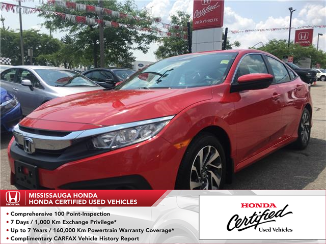 2017 Honda Civic EX (Stk: 326531A) in Mississauga - Image 1 of 21