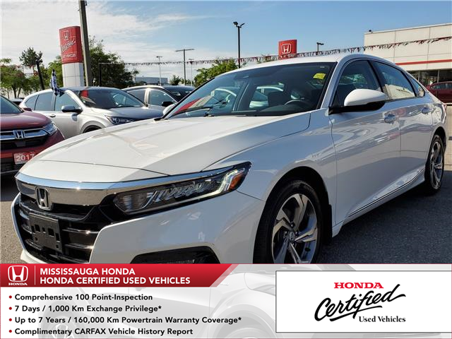 2018 Honda Accord EX-L (Stk: 325802A) in Mississauga - Image 1 of 25