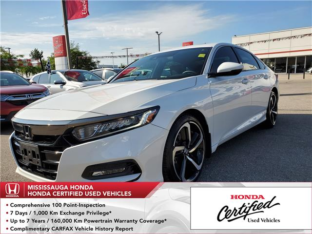 2018 Honda Accord Sport (Stk: 326861A) in Mississauga - Image 1 of 23