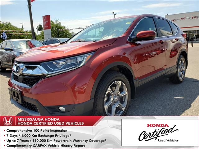 2018 Honda CR-V EX (Stk: 326561A) in Mississauga - Image 1 of 24