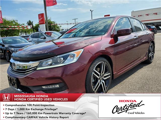 2016 Honda Accord Sport (Stk: CP0205) in Mississauga - Image 1 of 23