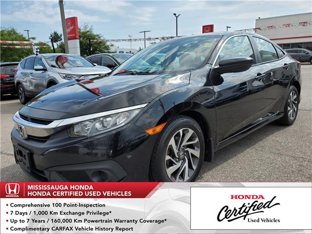2016 Honda Civic EX (Stk: 326585A) in Mississauga - Image 1 of 21