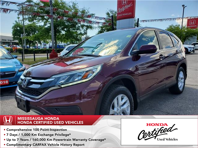 2015 Honda CR-V SE (Stk: 326621A) in Mississauga - Image 1 of 21