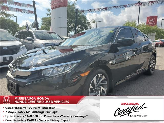 2016 Honda Civic EX (Stk: 326712A) in Mississauga - Image 1 of 22