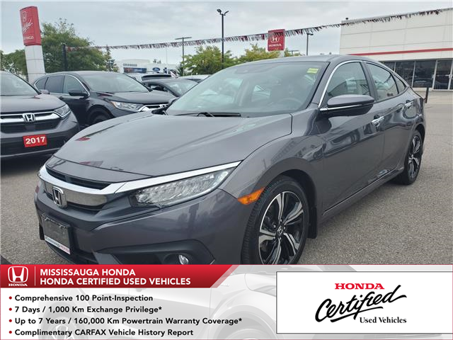 2018 Honda Civic Touring (Stk: OP6228) in Mississauga - Image 1 of 25