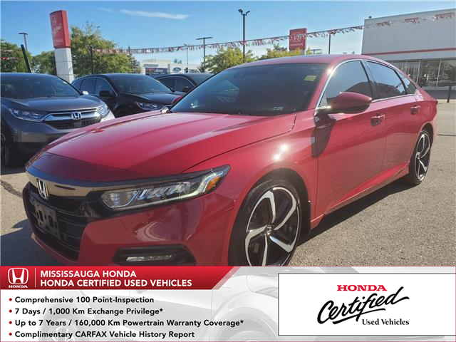 2018 Honda Accord Sport (Stk: CP0216) in Mississauga - Image 1 of 23