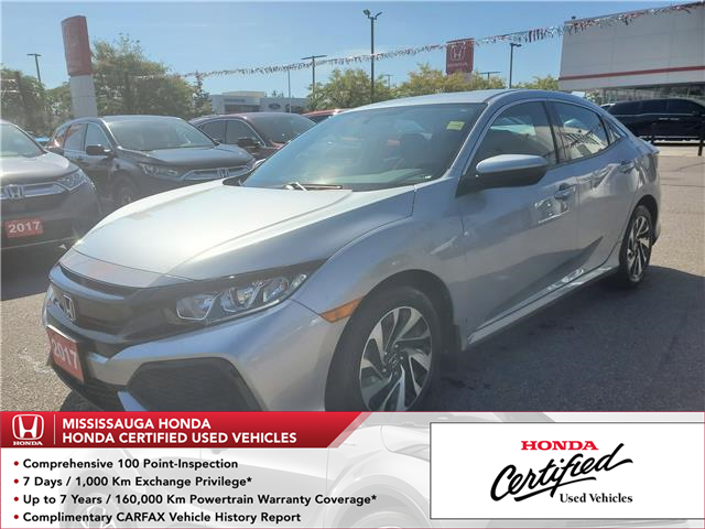 2017 Honda Civic LX (Stk: CP0212) in Mississauga - Image 1 of 21