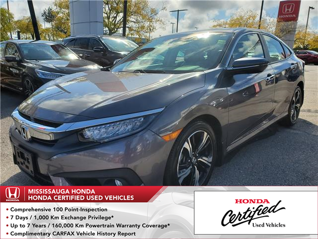 2017 Honda Civic Touring (Stk: 326150A) in Mississauga - Image 1 of 26