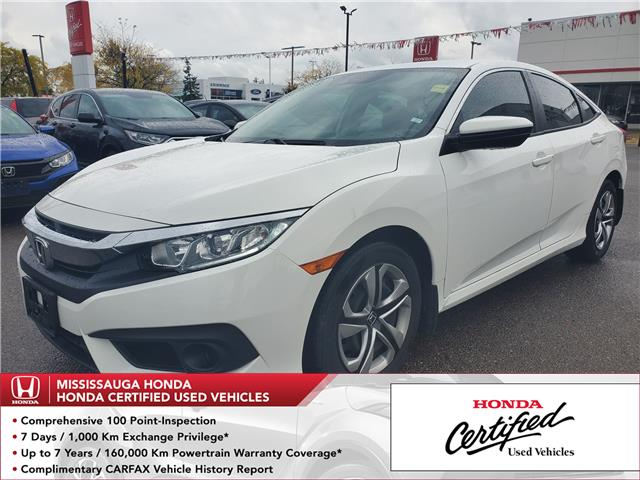 2016 Honda Civic LX (Stk: 327097A) in Mississauga - Image 1 of 19