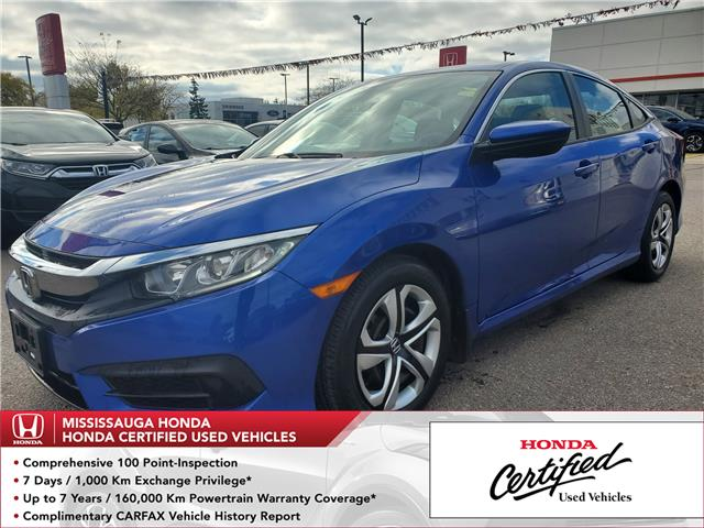 2016 Honda Civic LX (Stk: 327101A) in Mississauga - Image 1 of 21