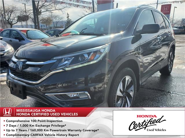 2016 Honda CR-V Touring (Stk: 327058A) in Mississauga - Image 1 of 25