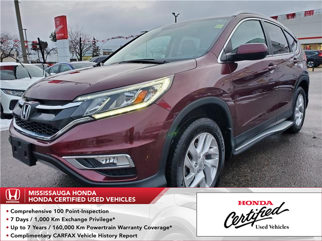 2016 Honda CR-V SE (Stk: 326986A) in Mississauga - Image 1 of 21