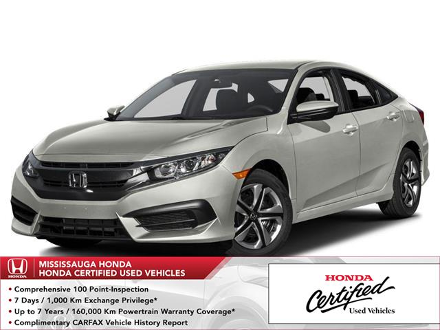 2016 Honda Civic LX (Stk: 327661A) in Mississauga - Image 1 of 9