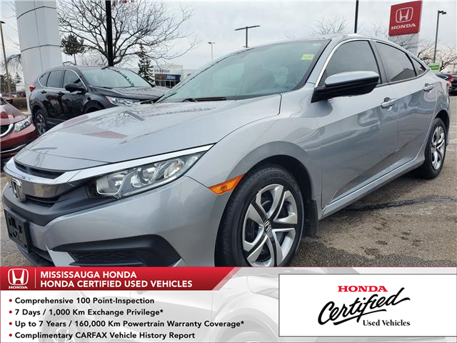 2018 Honda Civic LX (Stk: 327423A) in Mississauga - Image 1 of 21