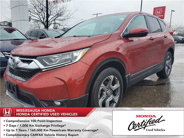 2018 Honda CR-V EX-L (Stk: 327383A) in Mississauga - Image 1 of 25