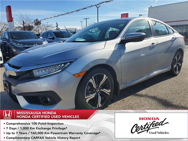 2018 Honda Civic Touring (Stk: 327645A) in Mississauga - Image 1 of 26