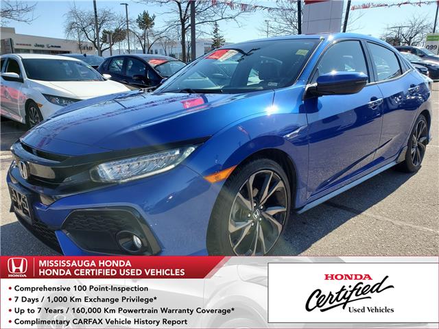 2017 Honda Civic Sport Touring (Stk: HC2619) in Mississauga - Image 1 of 25