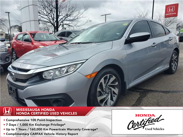 2017 Honda Civic EX (Stk: 327583A) in Mississauga - Image 1 of 23