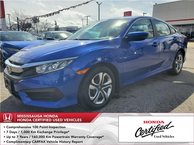 2016 Honda Civic LX (Stk: 327341A) in Mississauga - Image 1 of 20