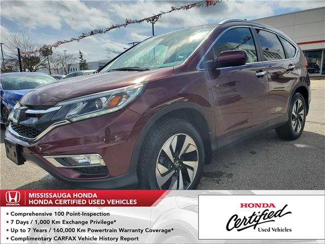 2016 Honda CR-V Touring (Stk: 327399A) in Mississauga - Image 1 of 24