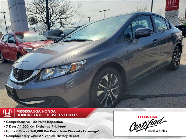 2015 Honda Civic EX (Stk: 327686A) in Mississauga - Image 1 of 24