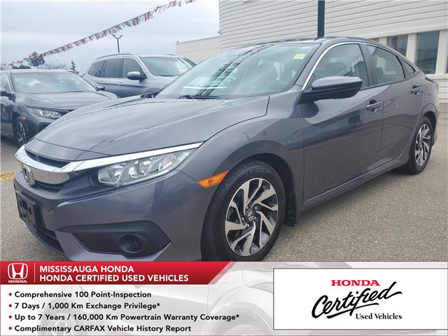2017 Honda Civic EX (Stk: 327902A) in Mississauga - Image 1 of 24