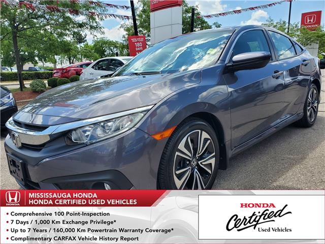 2018 Honda Civic EX-T (Stk: 327853A) in Mississauga - Image 1 of 23
