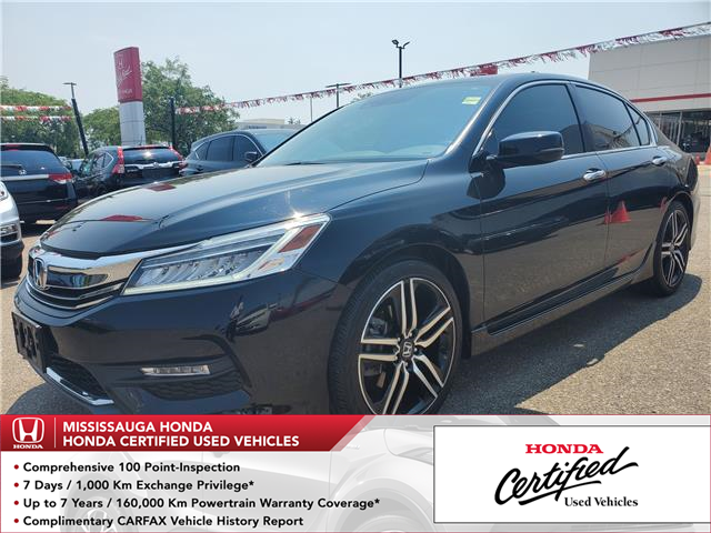 2017 Honda Accord Touring V6 (Stk: HC2683) in Mississauga - Image 1 of 27