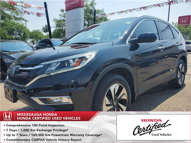 2016 Honda CR-V Touring (Stk: 327517A) in Mississauga - Image 1 of 24