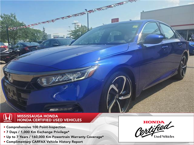 2018 Honda Accord Sport (Stk: HC2677) in Mississauga - Image 1 of 23
