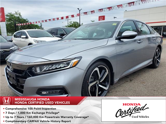 2019 Honda Accord Sport 1.5T (Stk: HC2692) in Mississauga - Image 1 of 22