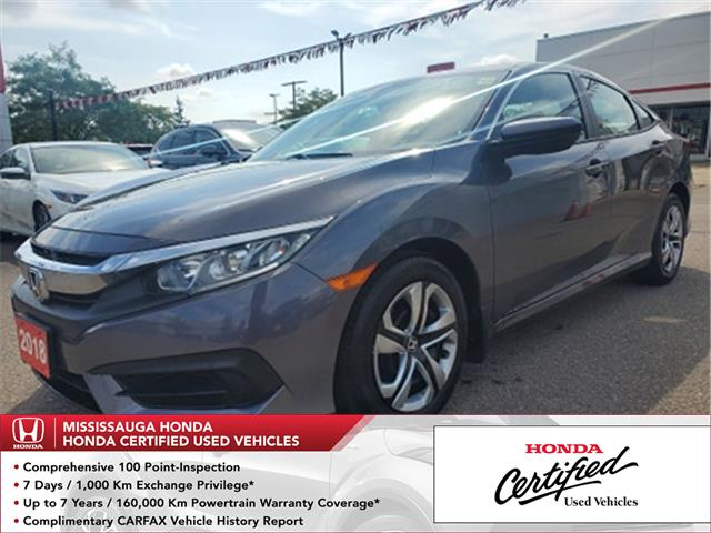2018 Honda Civic LX (Stk: HC2724) in Mississauga - Image 1 of 21