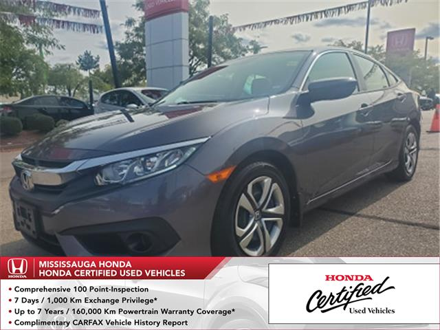 2017 Honda Civic LX (Stk: 327951A) in Mississauga - Image 1 of 21