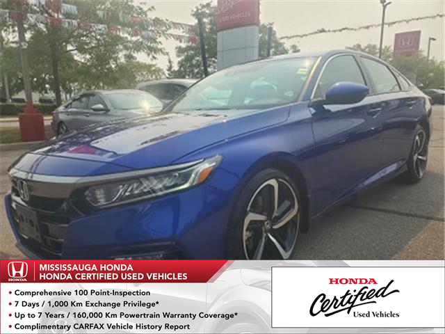 2019 Honda Accord Sport 1.5T (Stk: HC2738) in Mississauga - Image 1 of 23