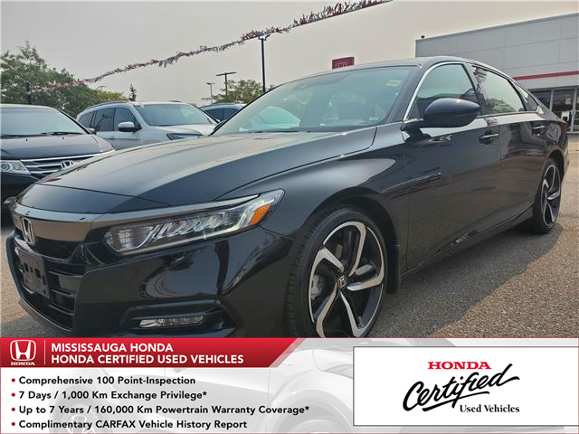 2019 Honda Accord Sport 1.5T (Stk: HC2736) in Mississauga - Image 1 of 23