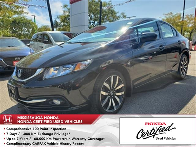 2015 Honda Civic Touring (Stk: HC2727) in Mississauga - Image 1 of 24